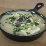 Chicken and Dumplings at Ration + Dram